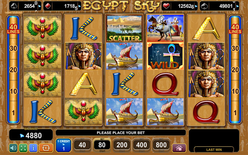 Spiele Egypt Sky - Video Slots Online